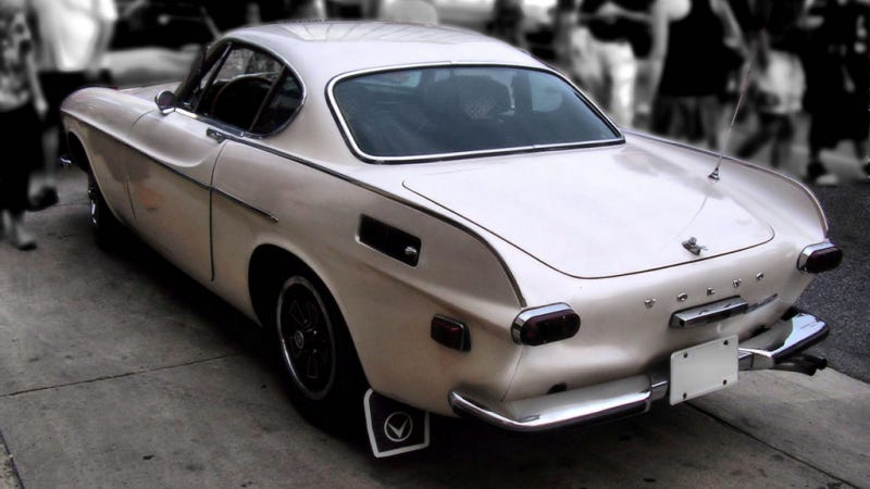 The Volvo P1800S Is Central To This Couple's Marriage