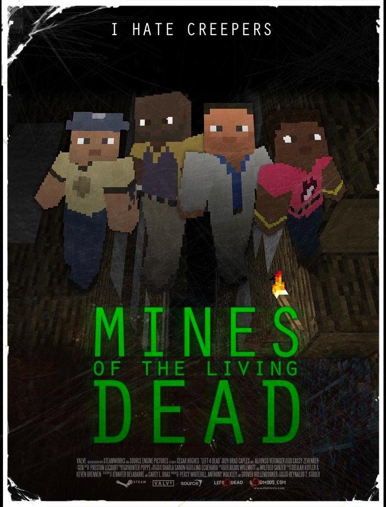Left 4 Dead Meets Minecraft