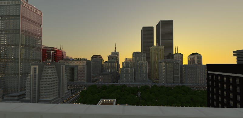 Fantastic Minecraft City Was Built on Xbox 360 Over Almost 18 Months