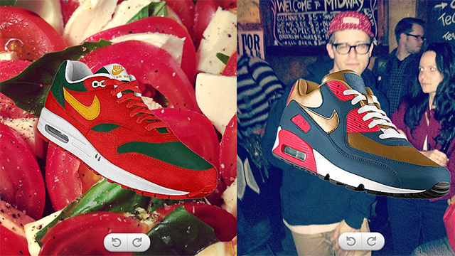 Nike PHOTOid: Design Awesome Kicks Inspired by Your Instagrams
