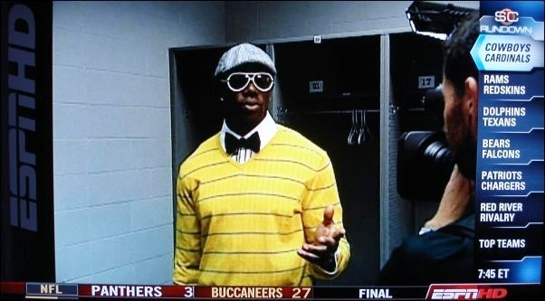 Terrell Owens Was Very Yellow On Monday