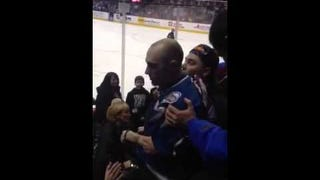 Fight At Avalanche Game Features A Dude Trying To Punch A Lady