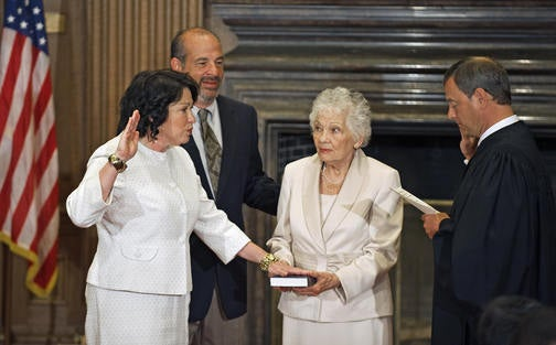 SoBro's Sonia Sotomayor's Swearing In Shows Suckas