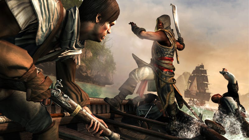 You're An Escaped Slave In Assassin's Creed IV's Freedom's Cry DLC