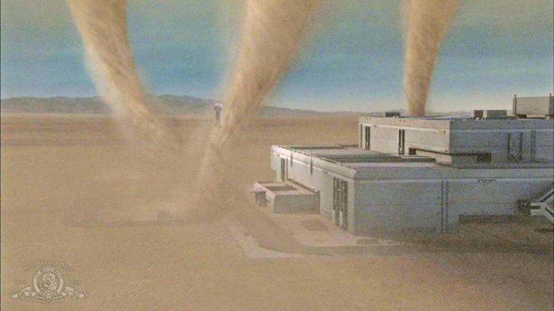 Real Atmospheric Science in Stargate: Atlantis