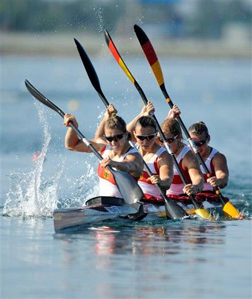 Golden Girls: German Kayak Team
