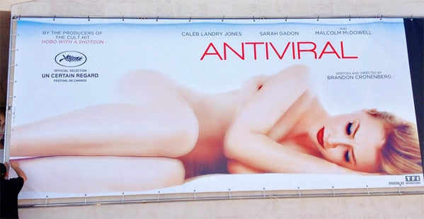 Antiviral Cannes Banner and Screenshots