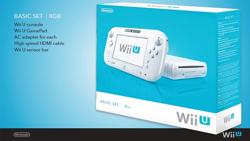 For Those With a Fetish, Here's the Wii U's Box Art