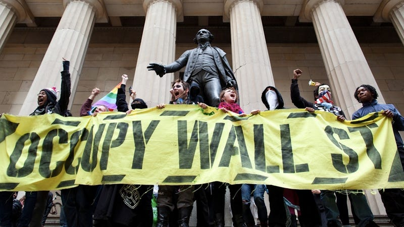 Occupy Wall Street Resurgence Marked by Rumors of Police Violence