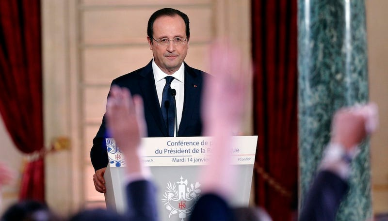 French President Francois Hollande Is Having a Bad Week