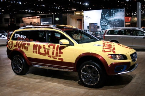 Chicago Auto Show: The Volvo XC70 SR Surf Rescue Vehicle, For When Hof Isn't Sober