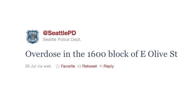Seattle Police Bombard Confused Citizens with Crime Tweets