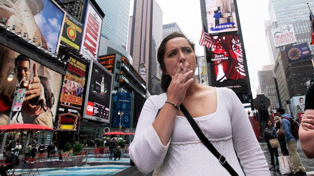 Evil Smokers Willingly Defy Silly, Unenforced Law