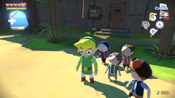 The Legend of Zelda: Wind Waker HD Sails To Wii U In October
