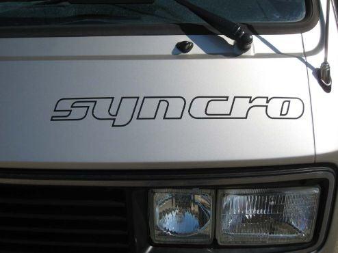 1987 Volkswagen Vanagon Syncro