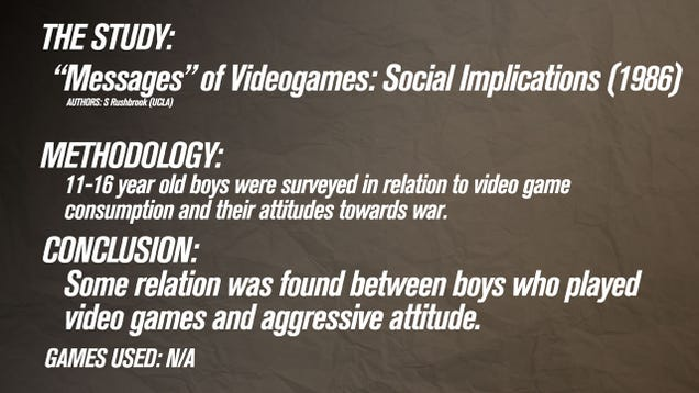argumentative essay about violent video games