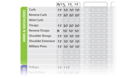 Track Your Workouts with the Weight Training Workout Sheet