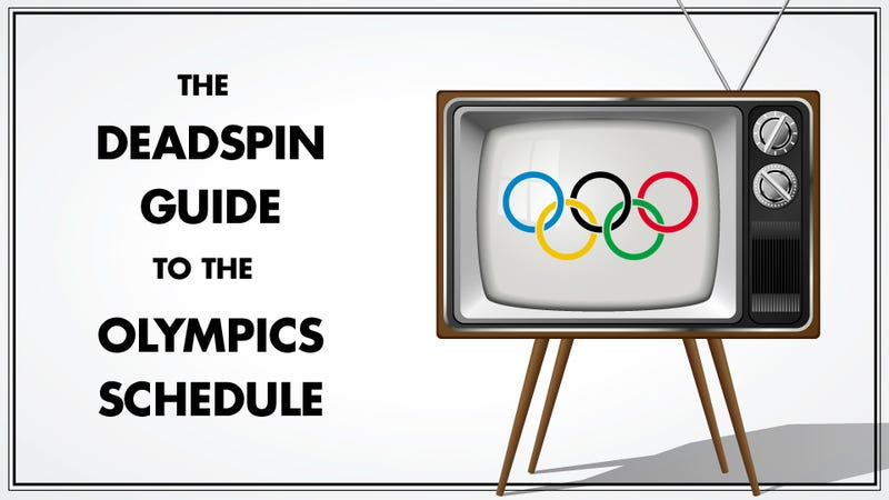Your Daily Olympic Schedule: August 2 - Day 7