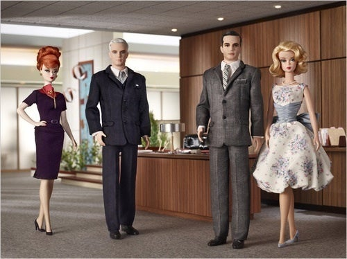 Contest: Win A Complete Set Of Mad Men Barbie Dolls!