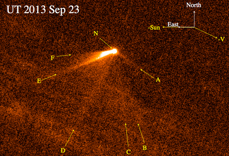 Astronomers Discover an Extraordinary Comet With Six Tails