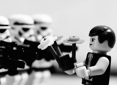 Famous Vietnam War Photographs, with Stormtrooper Legos