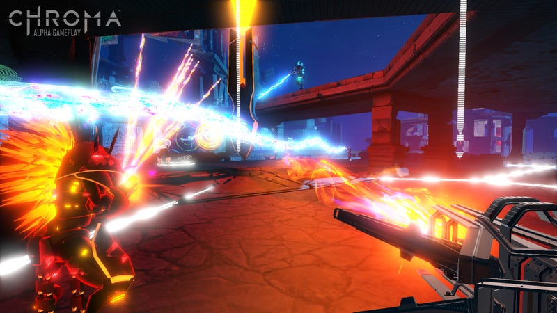 The Creators of Rock Band Are Making A Musical First-Person Shooter