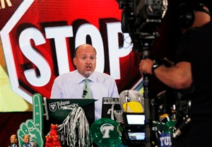 In Times of Trouble, People Turn to Jim Cramer