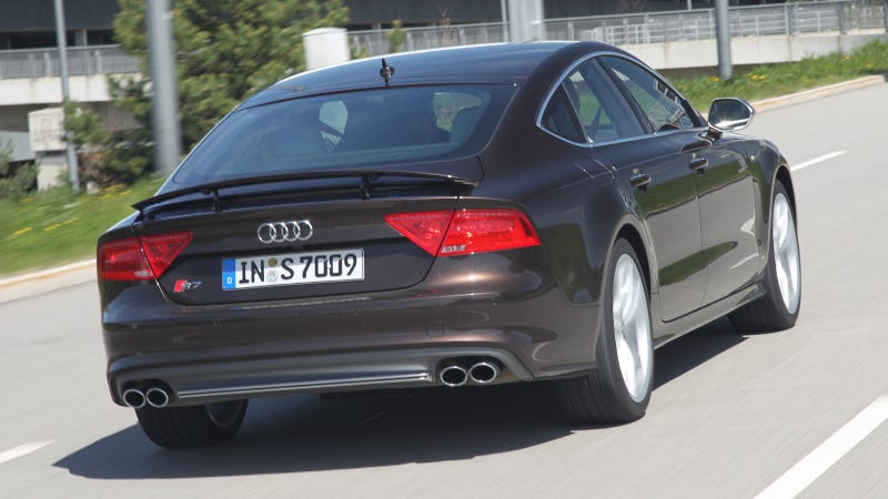 2013 Audi S7: First Drive Photos