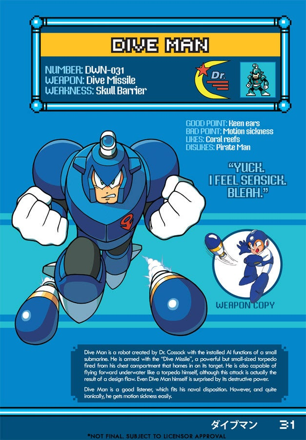 Know Mega Man's Evil Robot Masters
