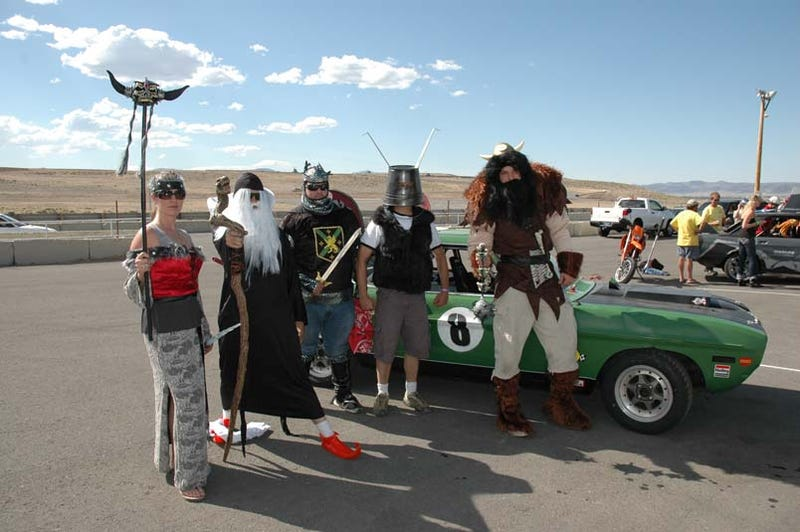 Themes at the 24 Hours of LeMons Reno-Fernley