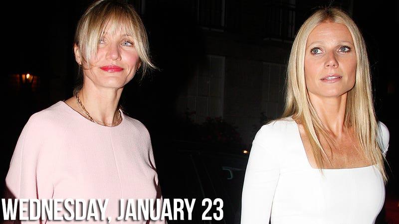 Gwyneth Paltrow Is Cockblocking Cameron Diaz Until She Gets It Together
