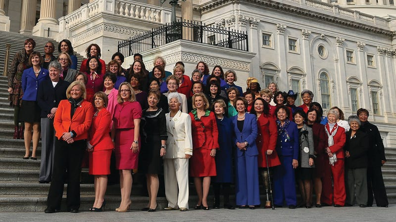 The Women Democrats of Congress Celebrated Inauguration Day with a Joyous Class Photo
