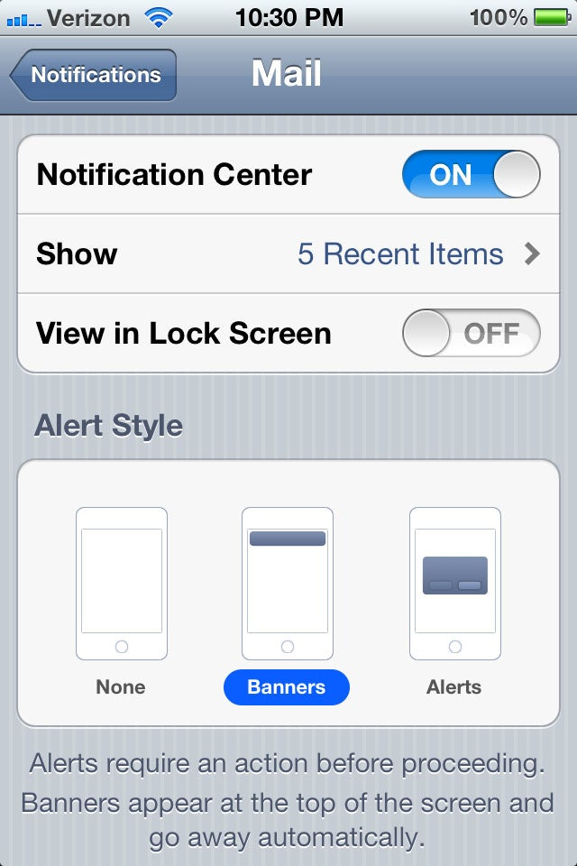 Apple iOS 5 gallery