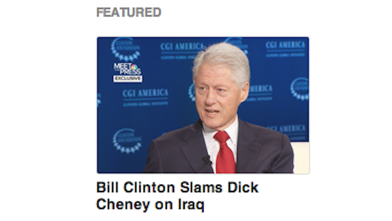 Today's Best Line Break Brought to You by Bill Clinton's Dick