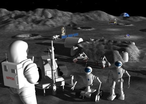 Japanese Robots to Invade the Moon