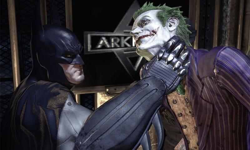 Six More Batman: Arkham Asylum Screens