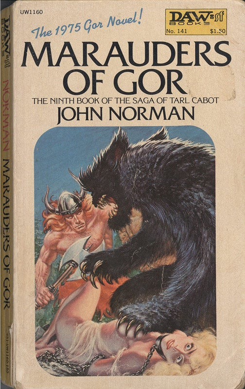 John Norman, the philosophy professor who created the barbaric world of Gor