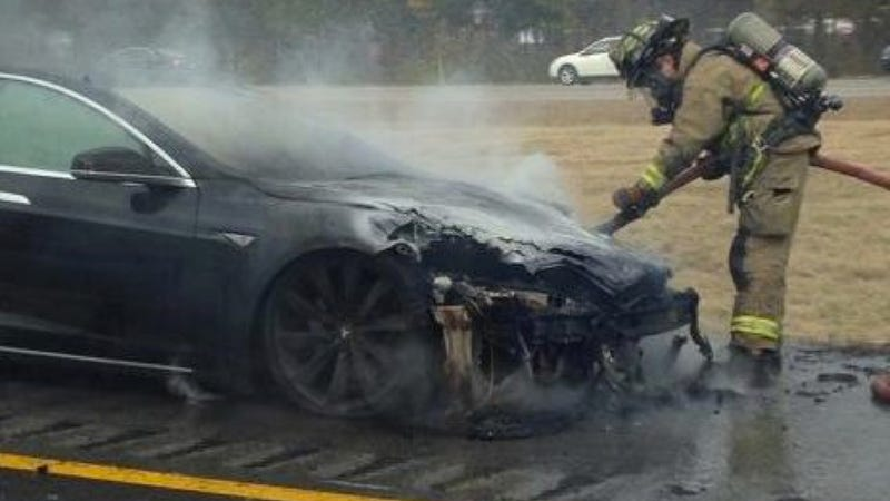 Fiery Tesla Model S Owner Says He'd Totally Get Another One, Again