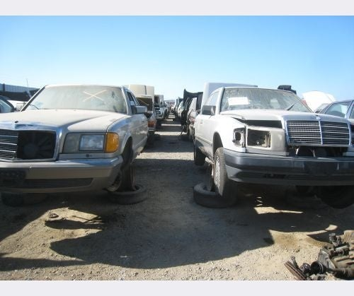 Clunkerized Mercedes-Benzes Clog Up Junkyards, Ghost Of Karl Benz To Haunt White House
