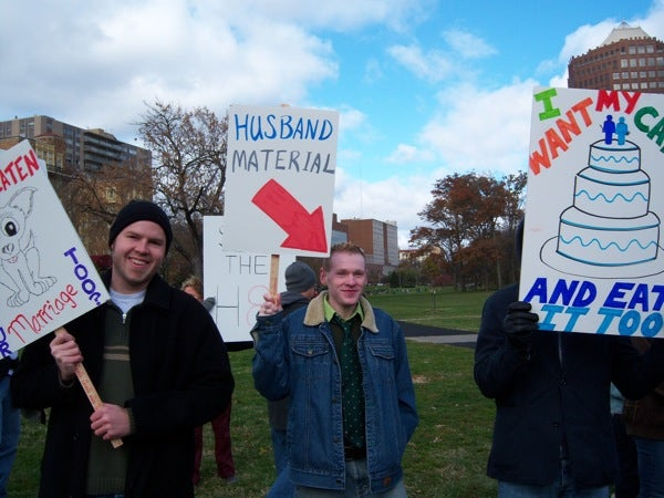 Love Not Hate: Proposition 8 Protest Pictures From Readers Across The Country