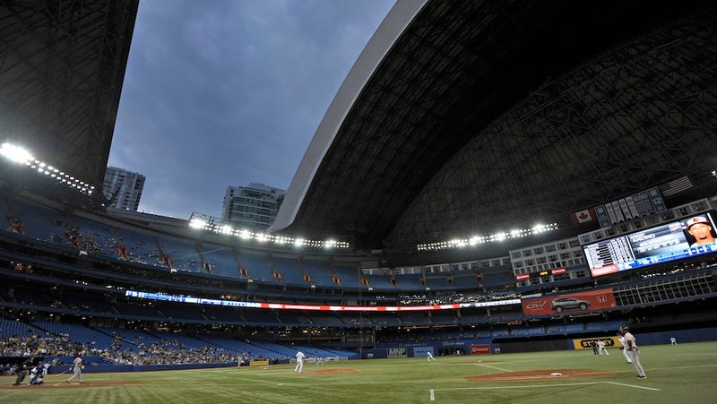 The Dome Broke In Toronto Last Night