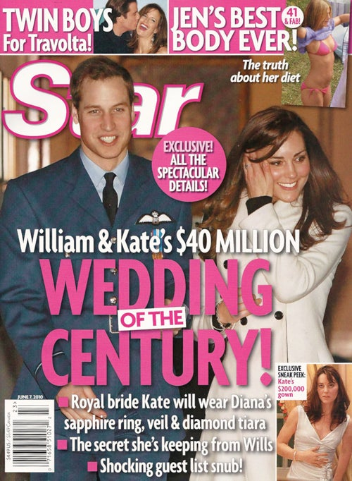 This Week In Tabloids: 50 Cent's Dramatic Weight Loss & Royal Wedding FanFic