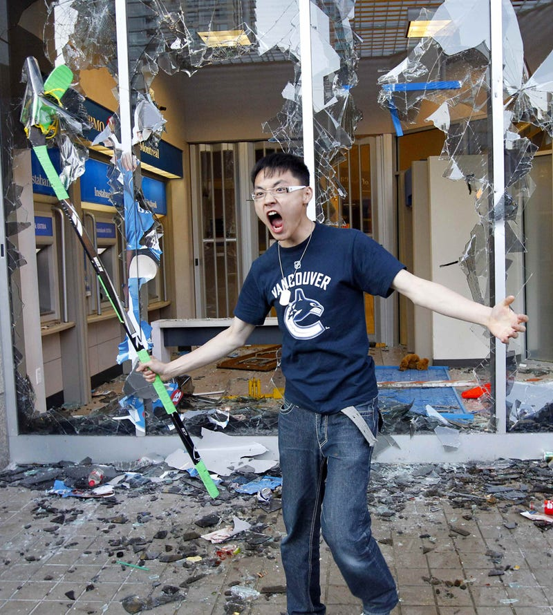 City Of Vancouver Says Stanley Cup Riots Were NHL's Fault