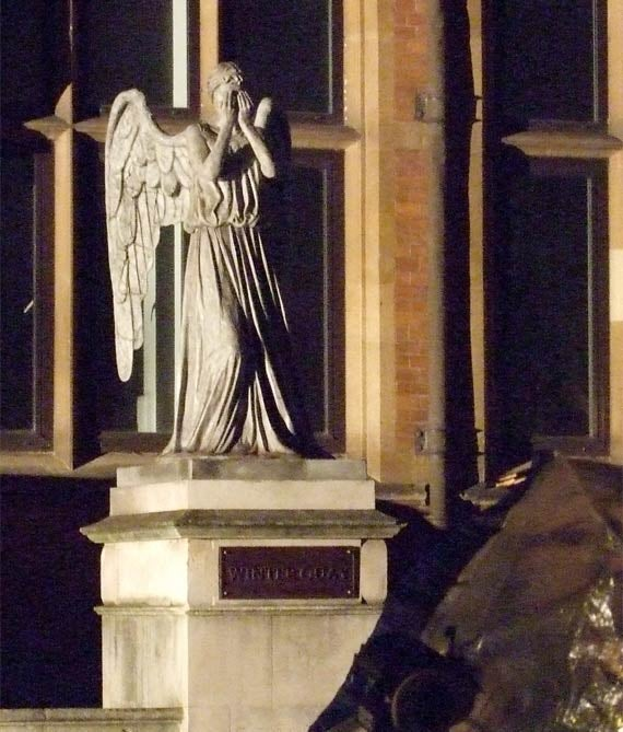 Doctor Who Filming Weeping Angels Gallery