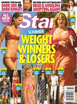 This Week In Tabloids: Beach Panic! Lose Your Mind Reading About How Stars Lose Weight