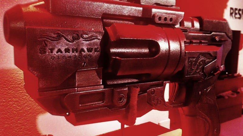 Starhawk's Monster Pistol Gets a Real World Appearance