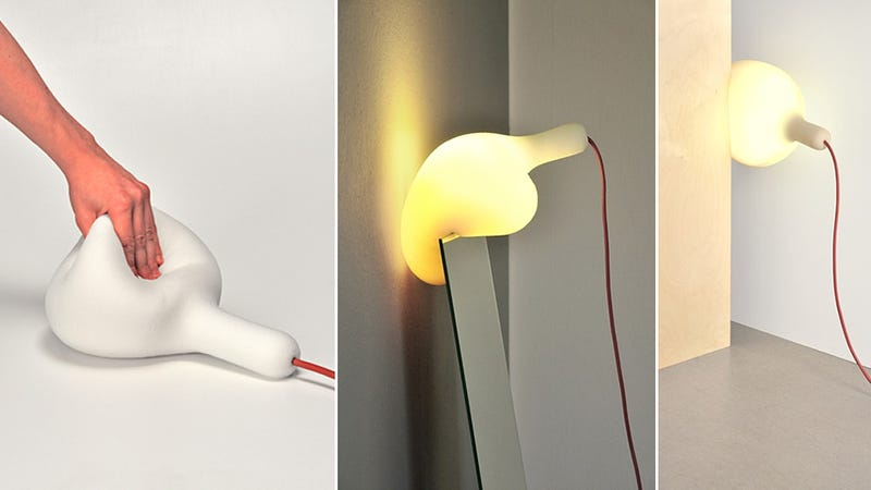 A Soft Squishy Lamp You Can Cram Anywhere (Even Under Your Head)