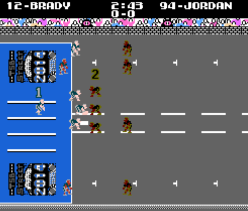Funky Tecmo Super Bowl Mod Creates Street Version of Gridiron Classic