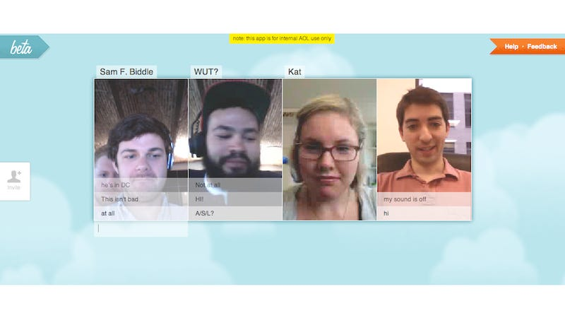 We Used AIM's Secret Video Chat Site, and It's Pretty Great