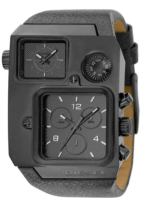 Diesel's DZ1318 Bad Ass Gunmetal Compass Watch Makes Me Wish I Could Be Male